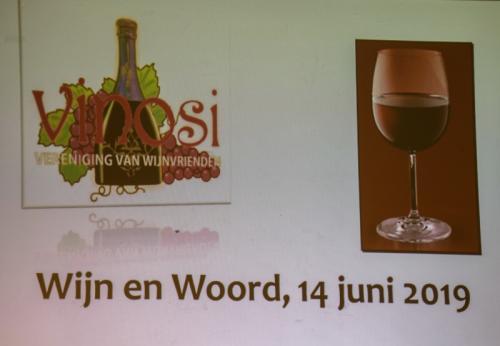 14-06-2019 Woord en wijn